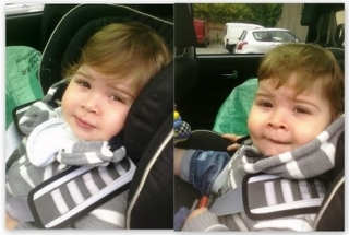 Daniel before and after hair cut