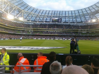 South Stand at the Aviva Stadium at Landsdowne Road