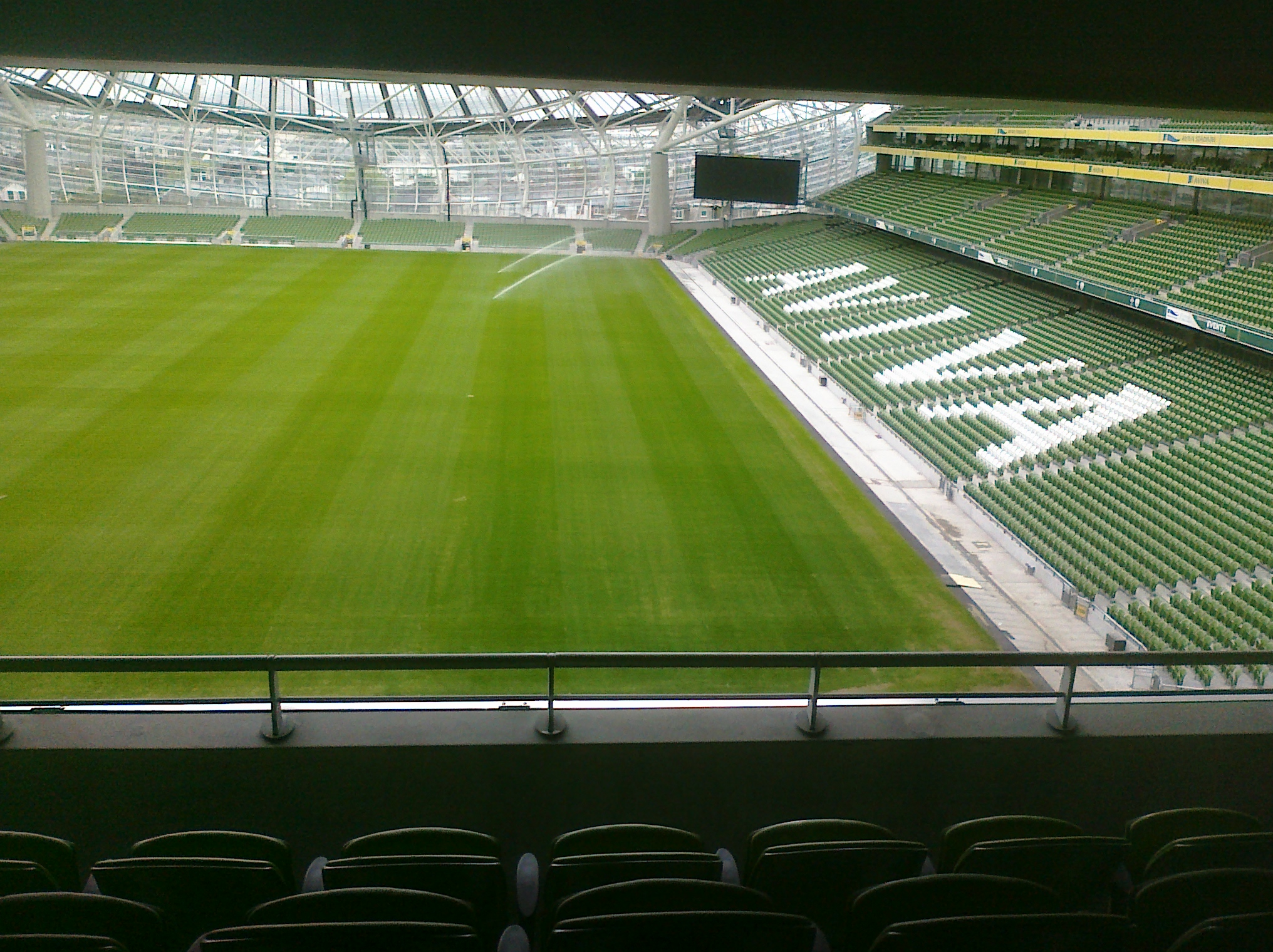 The Aviva Stadium at Landsdowne Road