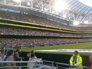 East Stand at the Aviva Stadium at Landsdowne Road