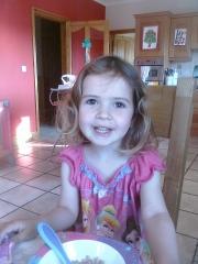 Mia on her 3rd Birthday