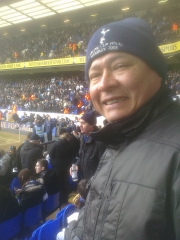 Rafa at White Hart Lane